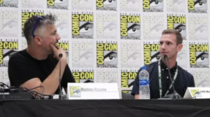 SDCC '18: Jeff McKibben and Matteo Pizzolo talk F*Society origins in Black Mask's MR. ROBOT Panel