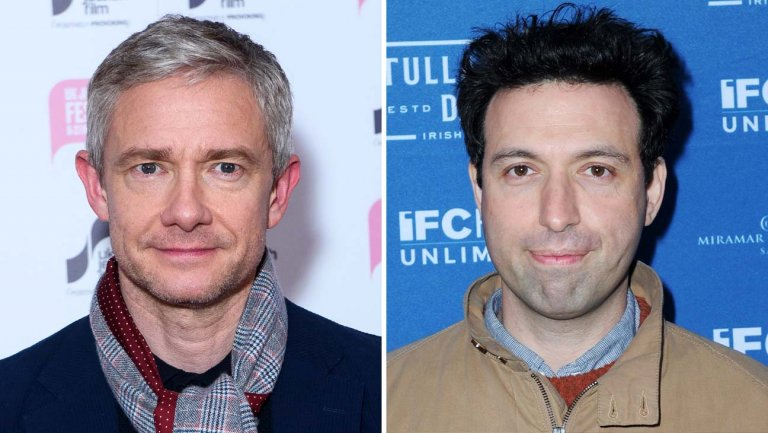 The Hollywood Reporter: Martin Freeman, Alex Karpovsky Join 'Angelyne' Limited Series at Peacock