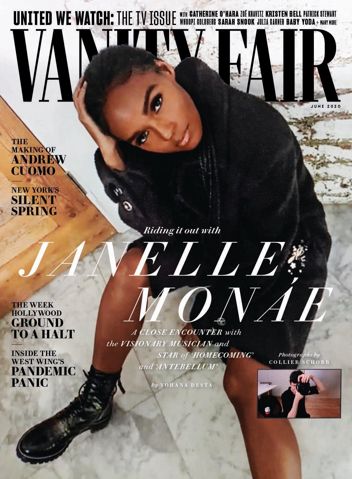 Vanity Fair: Janelle Monáe: Artist in Residence